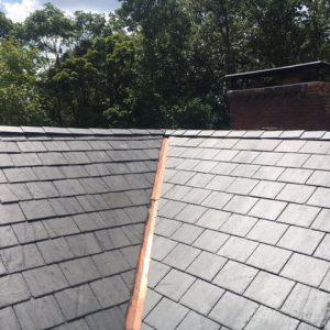 corner roof shingles